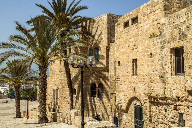 Jaffa, Israel. Old city Jaffa in Israel stock images