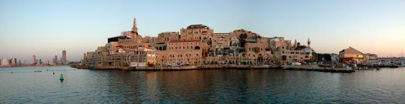 Jaffa port stock photos