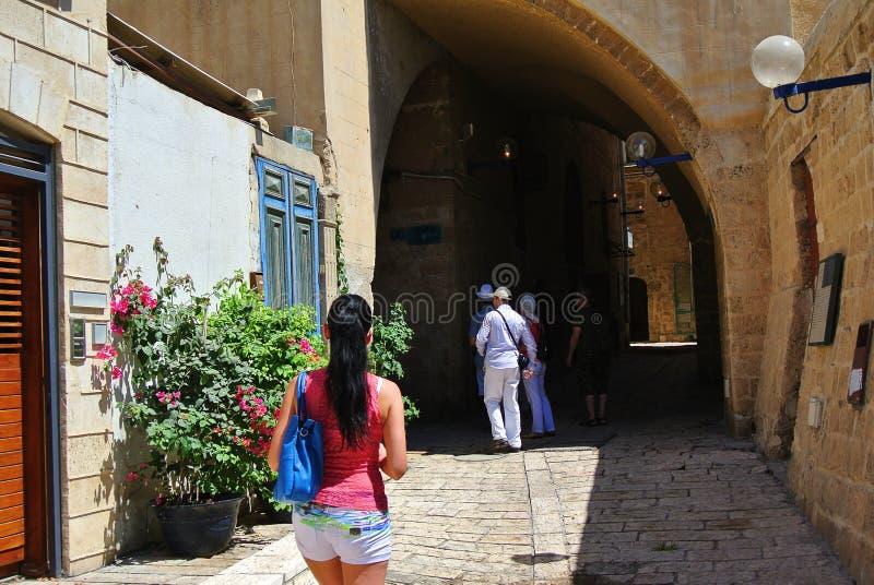 Jaffa Ville portuaire antique de l'Israël photo libre de droits