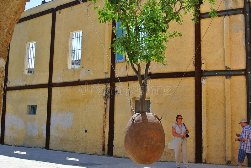 Jaffa Ville portuaire antique de l'Israël images stock