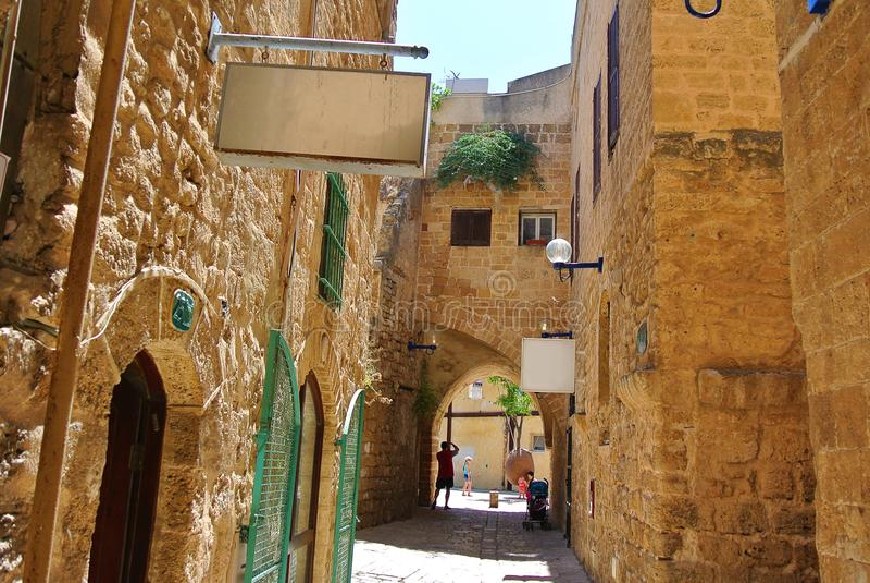 Jaffa Ville portuaire antique de l'Israël photo stock