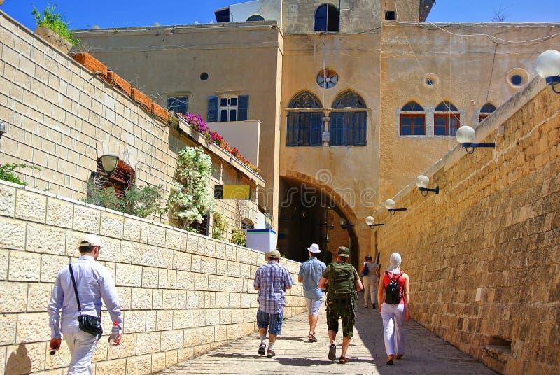 Jaffa Ville portuaire antique de l'Israël photographie stock libre de droits