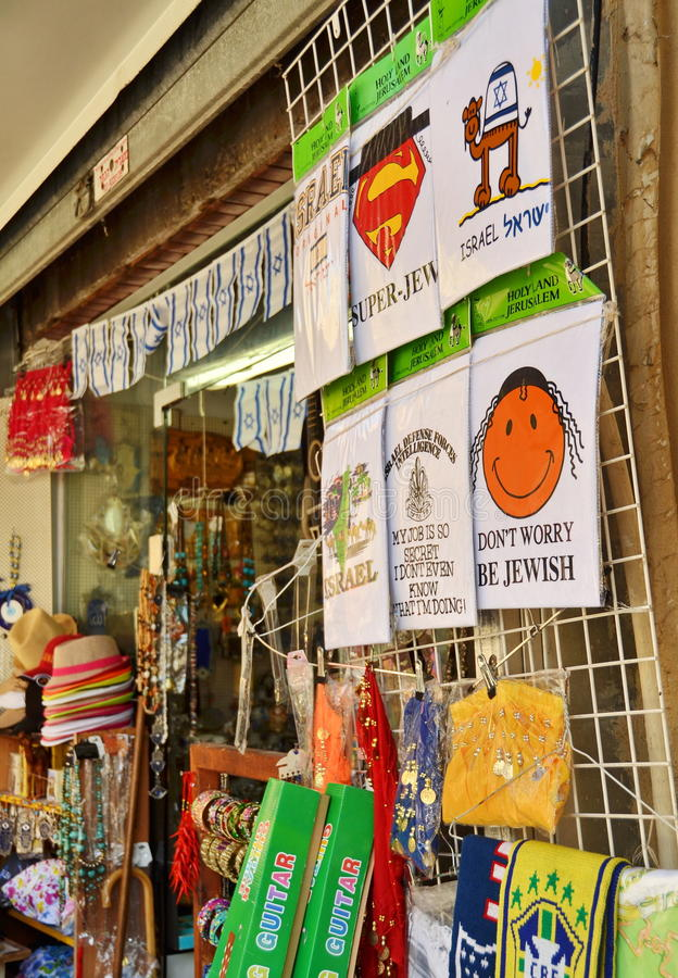 Jaffavlooienmarkt royalty-vrije stock fotografie