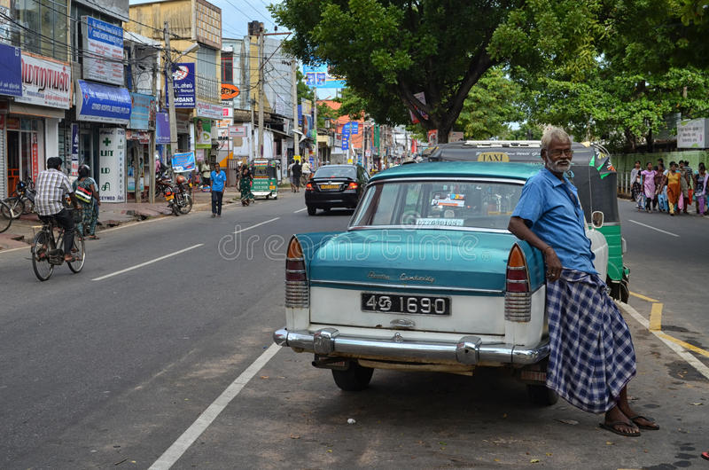 Jaffna City Taxi royalty free stock images