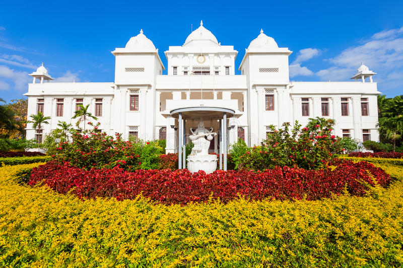 The Jaffna Public Library. Jaffna Public Library is located in Jaffna, Sri Lanka. It is one of Jaffna most notable landmarks royalty free stock photo