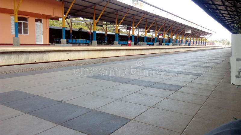 Jaffna Railway Station stock images