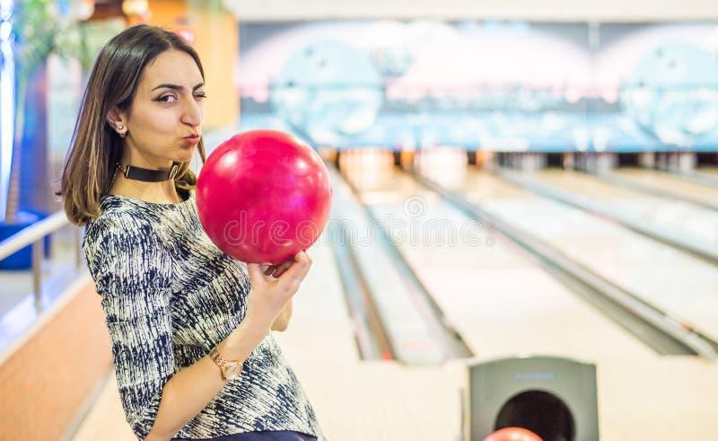 Jag älskar bowling royaltyfria bilder