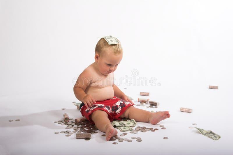 jag älskar pengar royaltyfria foton