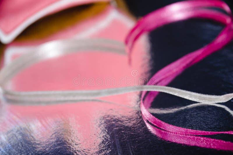 jag älskar pink arkivbild