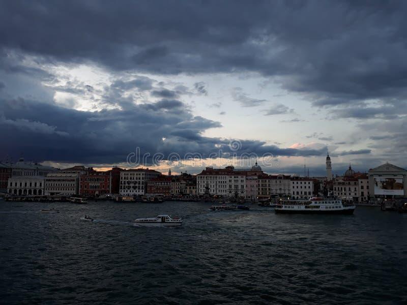 Jag älskar Venedig royaltyfria bilder