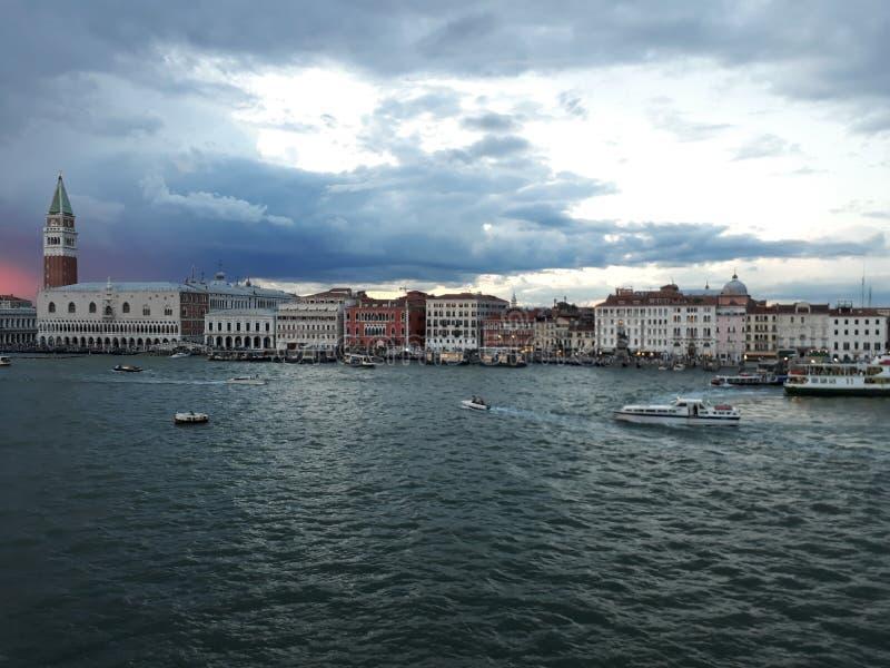 Jag älskar Venedig royaltyfri foto