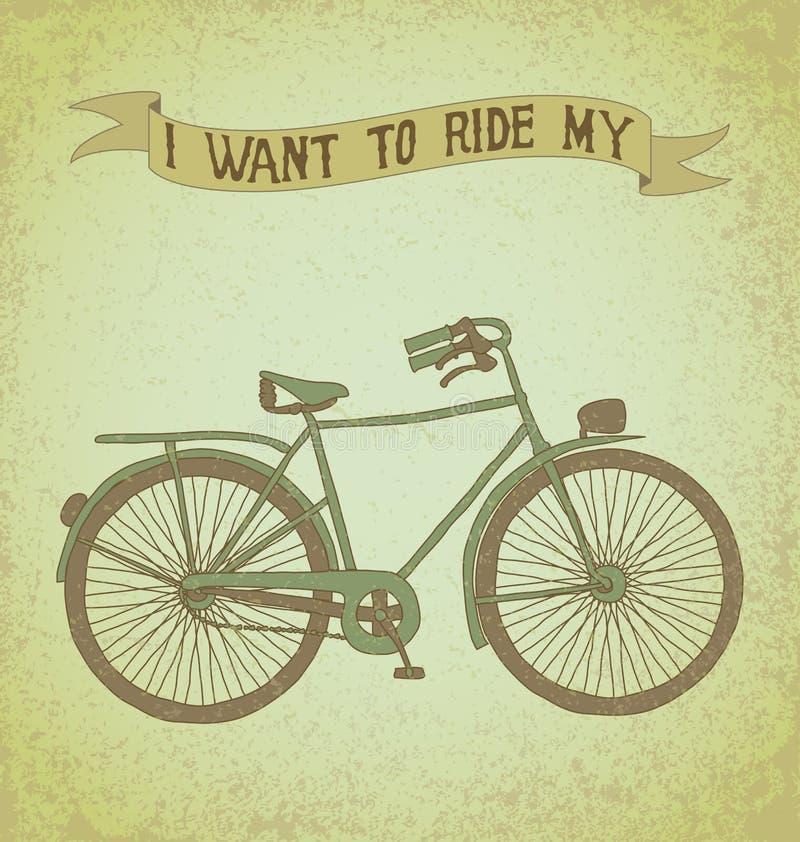 Jag önskar att rida min cykel fotografering för bildbyråer