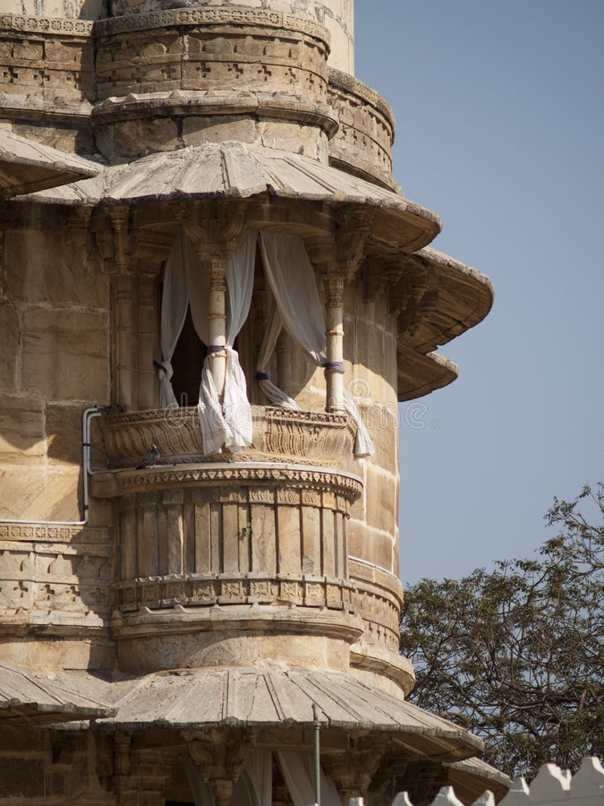 Jag Mandir palace in lake Pichola, Udaipur royalty free stock photos