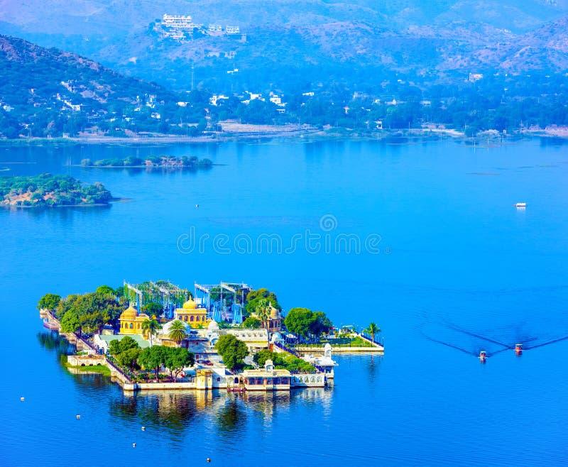 Download Jag Mandir Palace Sur Le Lac Pichola Dans Udaipur, Inde Photo stock - Image du célèbre, vieux: 76080260