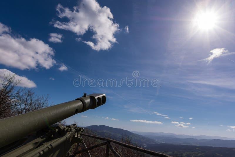 Jag skjuter i solen arkivbilder