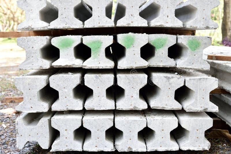 Jag-stråle för färdiggjuten betong royaltyfri bild
