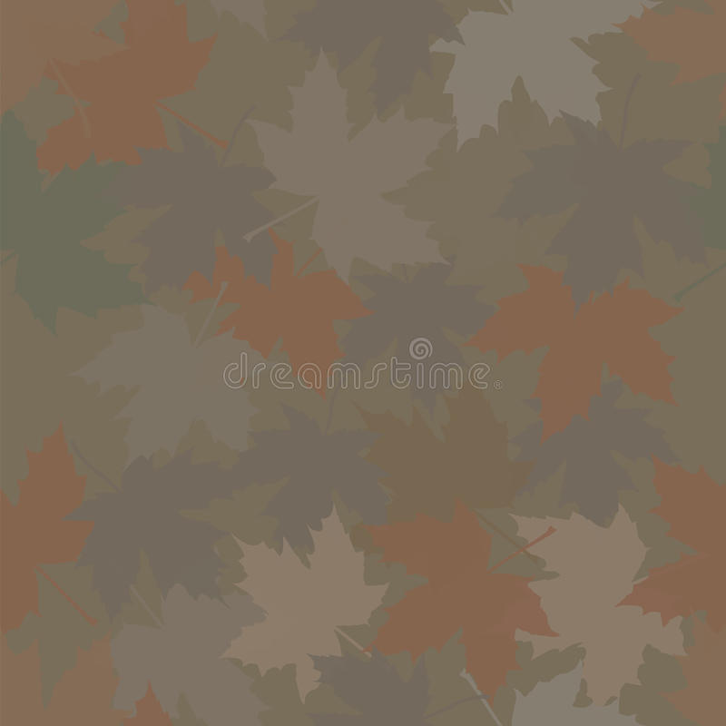Jaga kamouflagelönnskogen vektor illustrationer