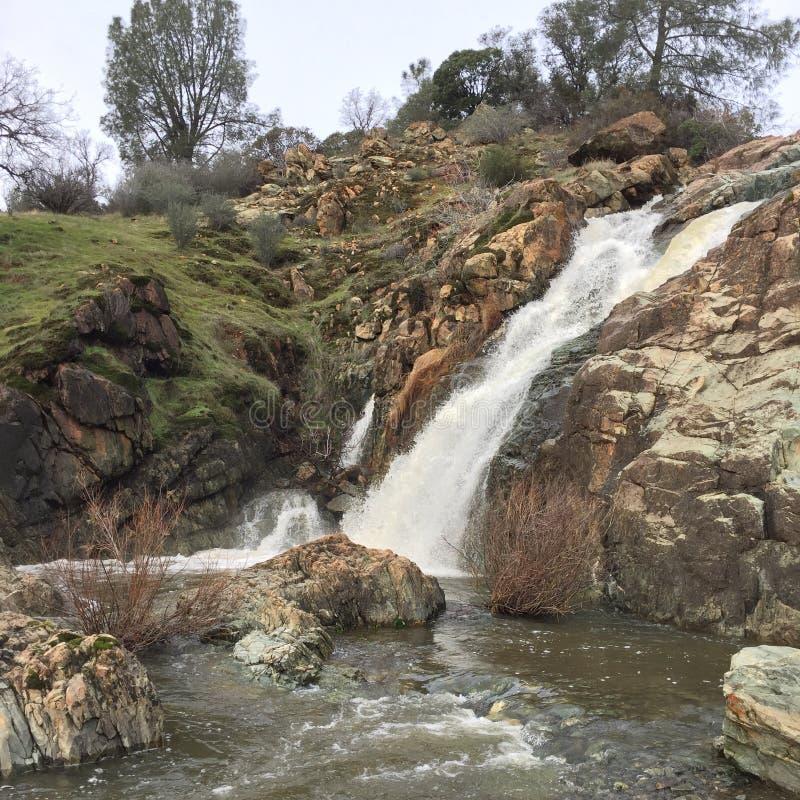 Jaga vattenfall fotografering för bildbyråer