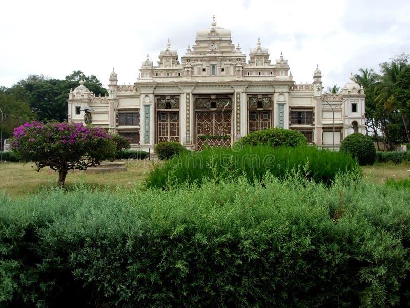 jaganmohan mysore slott för ii arkivbilder