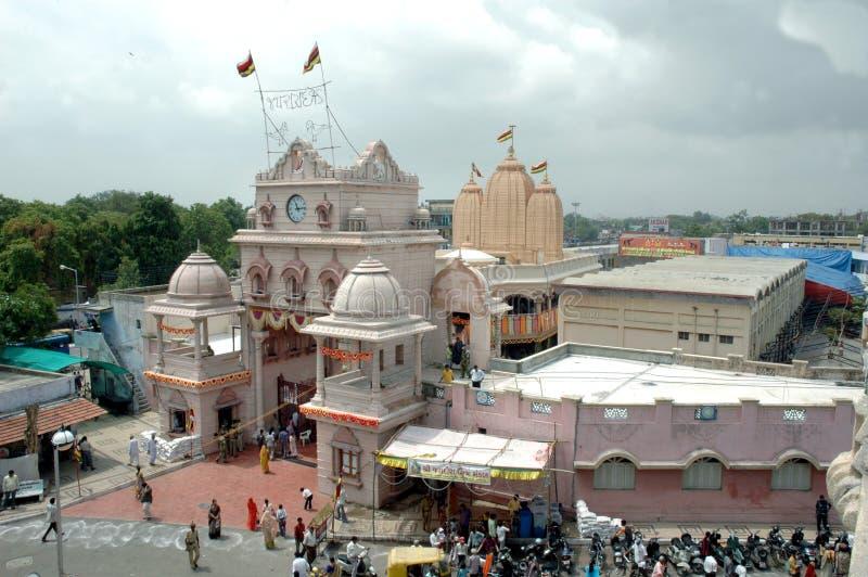 Jagannath Tempel, Ahmedabad, Indien stockbilder
