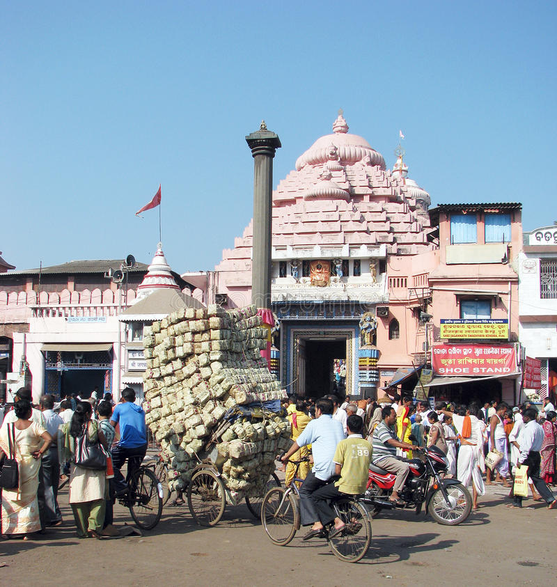 Download The Jagannath Temple In Puri Editorial Stock Image - Image: 20786029
