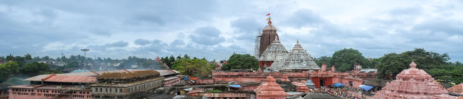 Jagannatha Temple in Puri stockfoto