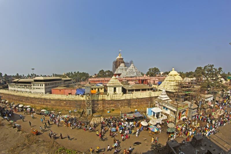 Jagannathtempel in Puri stock foto's