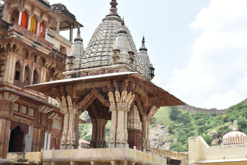 Jagat Shiromani Temple, Jaipur stock images