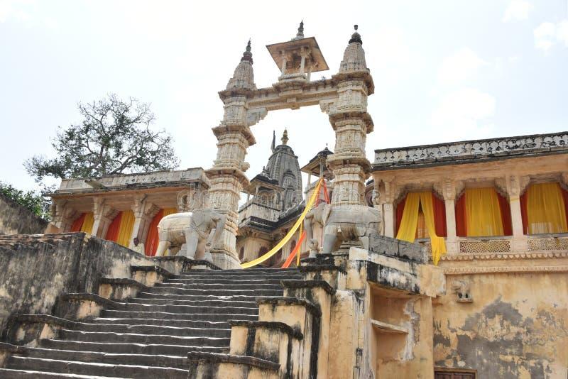 Jagat Shiromani Temple, Jaipur stock photo