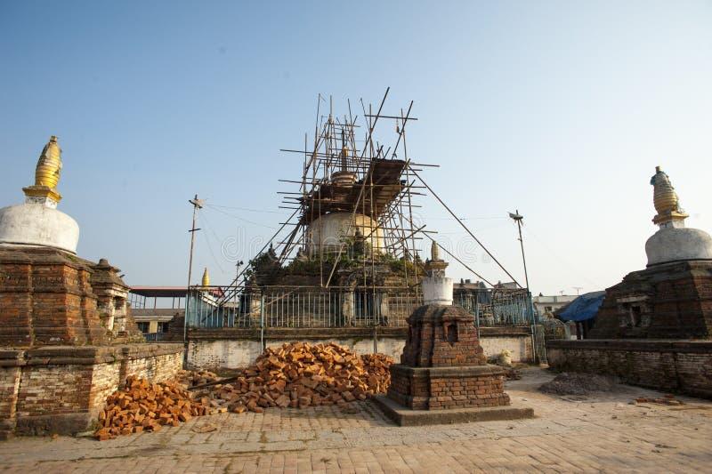 Jagatpal Mahabihar γνωστό ως Chilancho bihar στοκ φωτογραφία