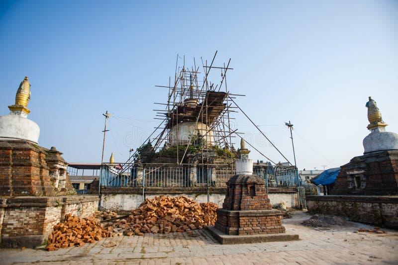 Jagatpal Mahabihar γνωστό ως Chilancho bihar στοκ φωτογραφίες