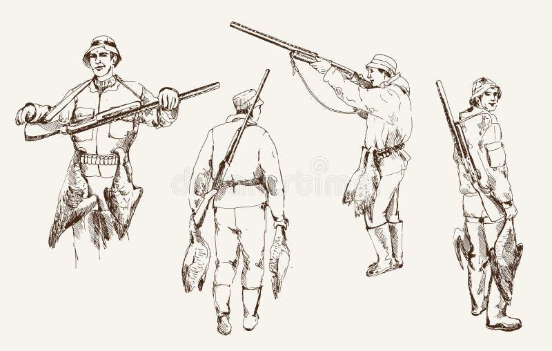 Jagd lizenzfreie abbildung