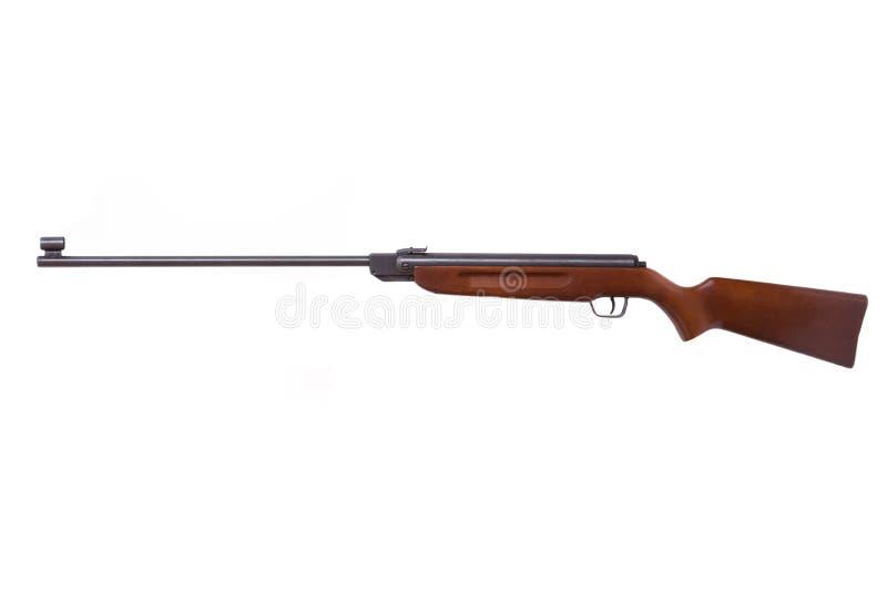 Jagd, das Gewehr wiederholend, lokalisiert auf Weiß lizenzfreie stockfotografie