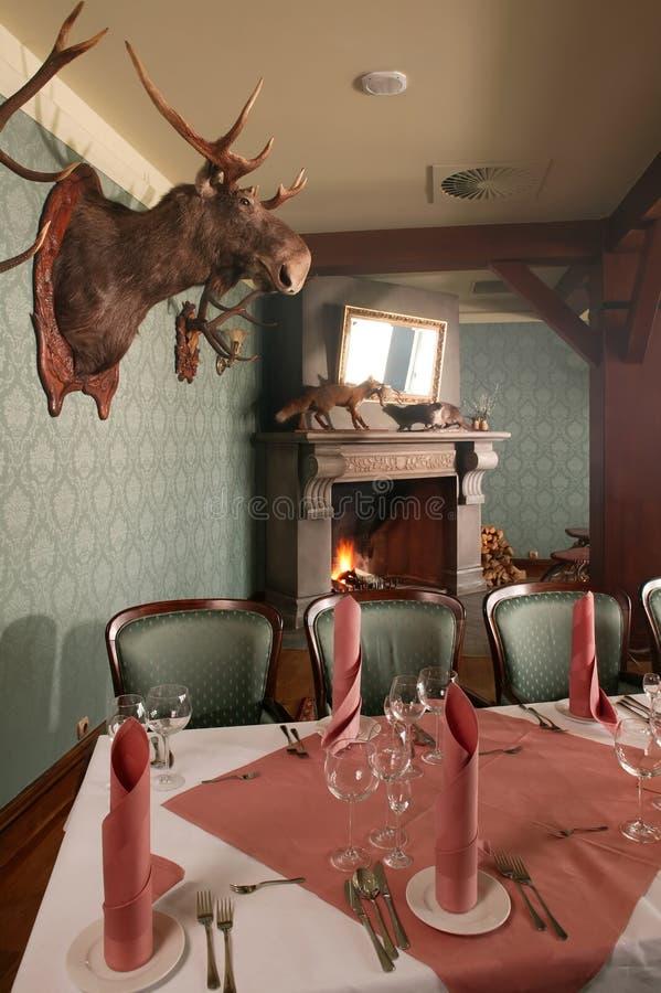 Jagd-Gaststätte stockbilder