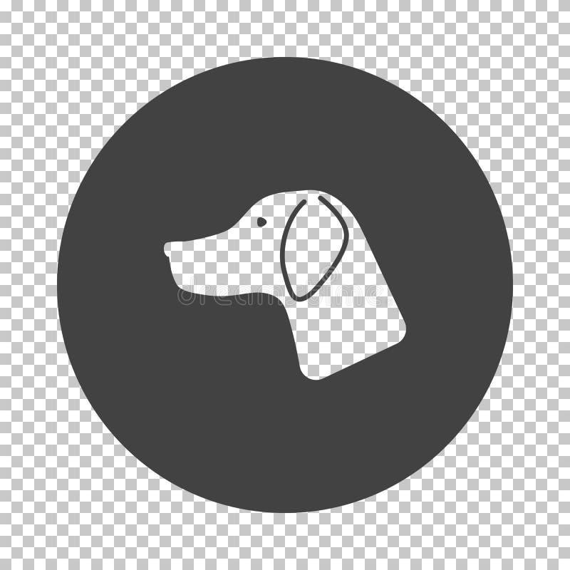 Jagdhund hatte Ikone vektor abbildung
