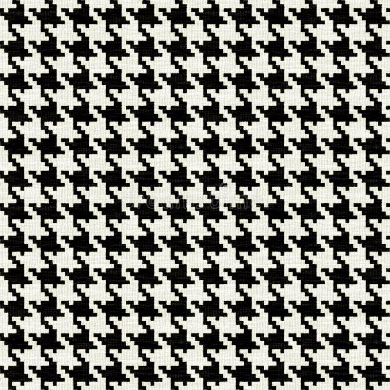 Jagdhund-Zahn-Muster stock abbildung