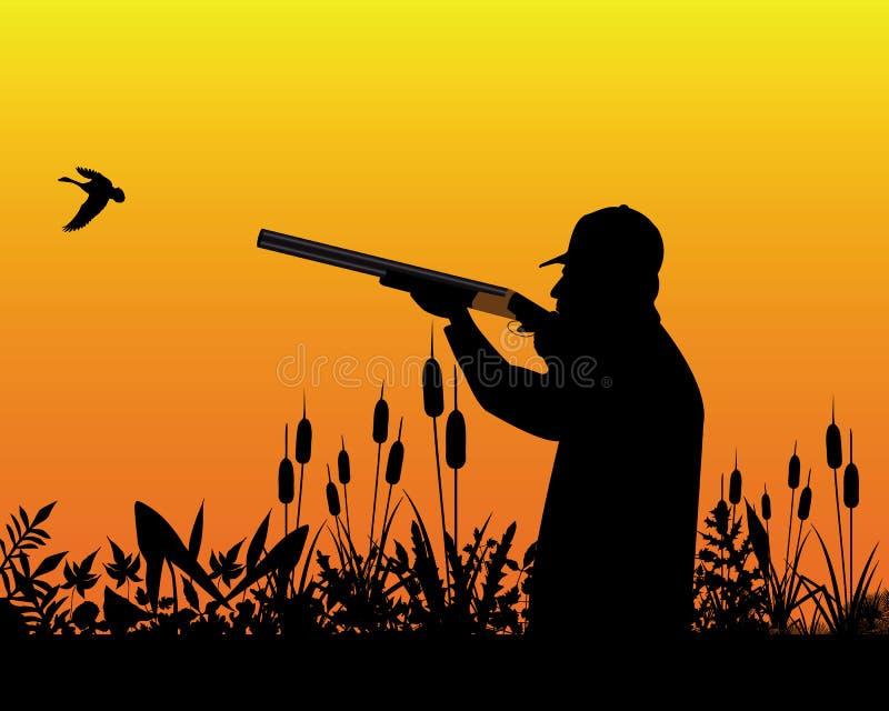 Download Jager vector illustratie. Illustratie bestaande uit eend - 54075674