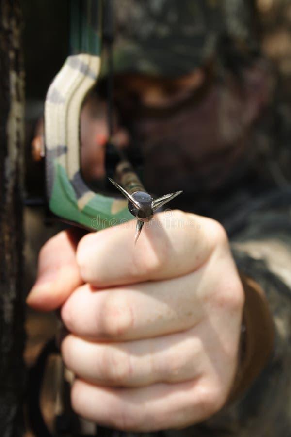 Jager die - jaagt stock foto's