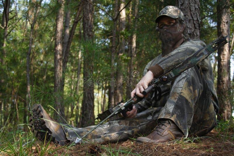 Jager die - jaagt royalty-vrije stock foto