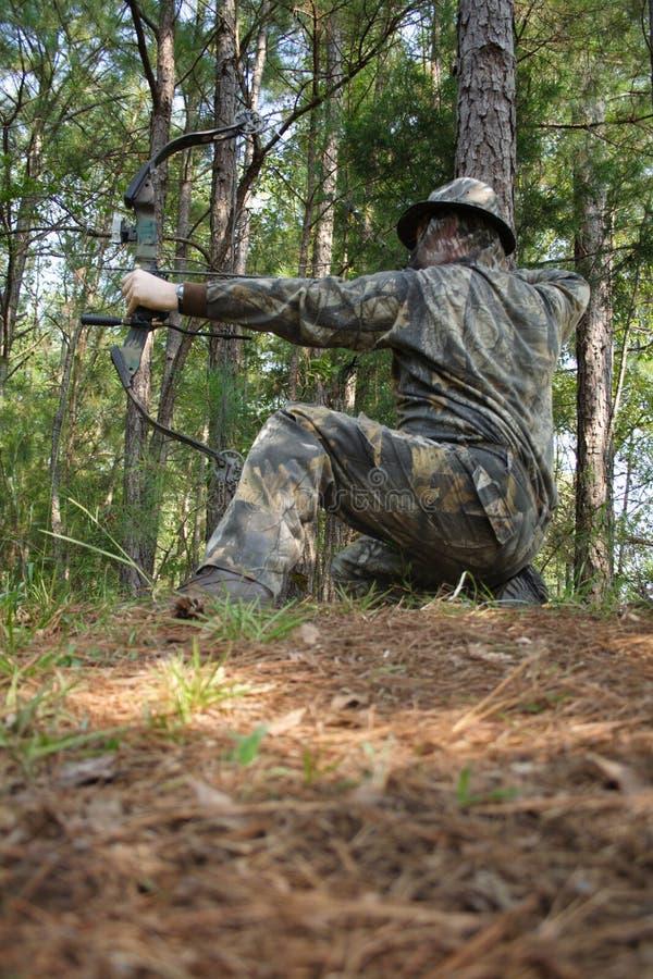 Jager die - jaagt royalty-vrije stock foto's