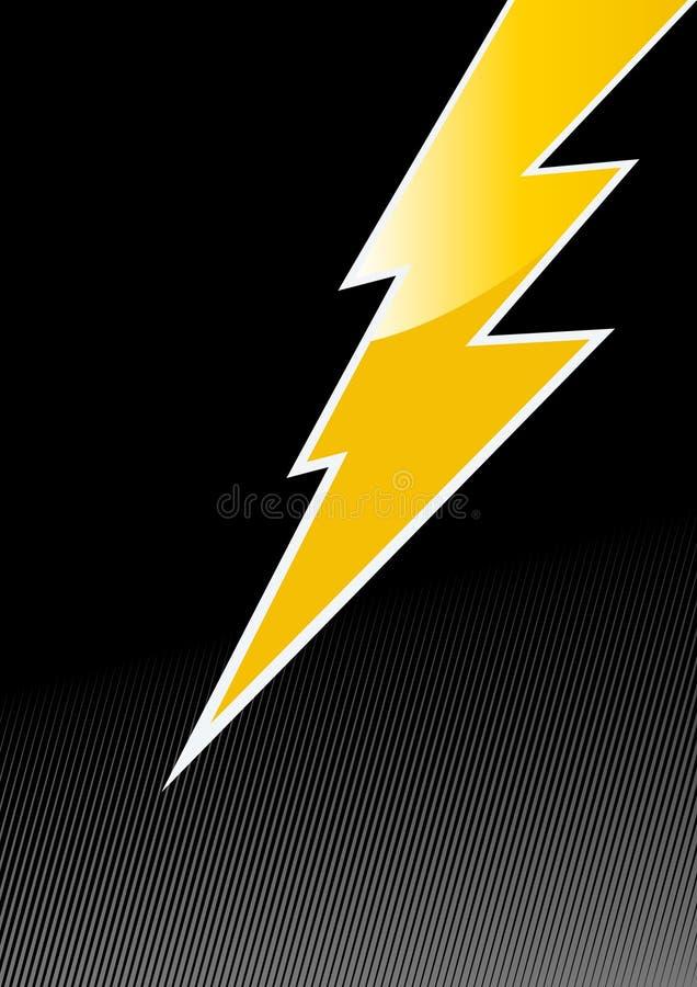 Free Jagged Lightening Symbol Royalty Free Stock Photo - 9001155