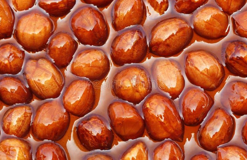 Jaggery cukierek z arachidami zdjęcia royalty free