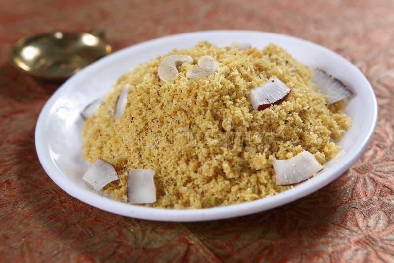 Jaggery medeltal kokade ris sött, Vellap Puttu royaltyfri foto