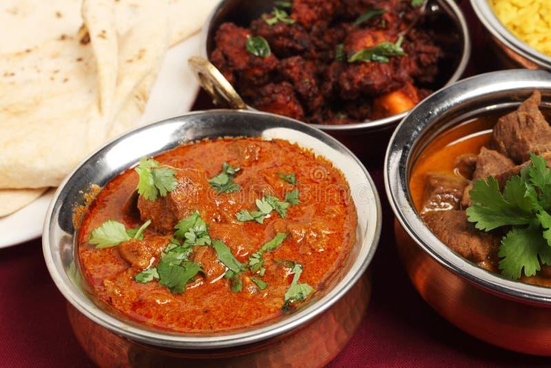 Jagnięcy Kaszmirczyka curry zdjęcia stock