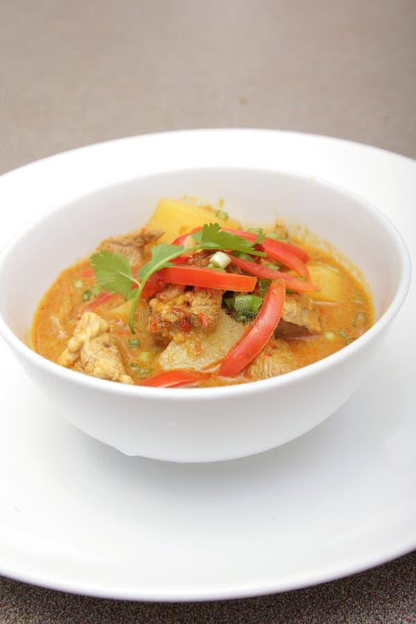 Jagnięcy mięsny curry'ego Asia jedzenie zdjęcia stock