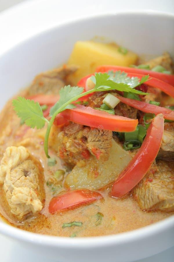 Jagnięcy mięsny curry'ego Asia jedzenie zdjęcie royalty free