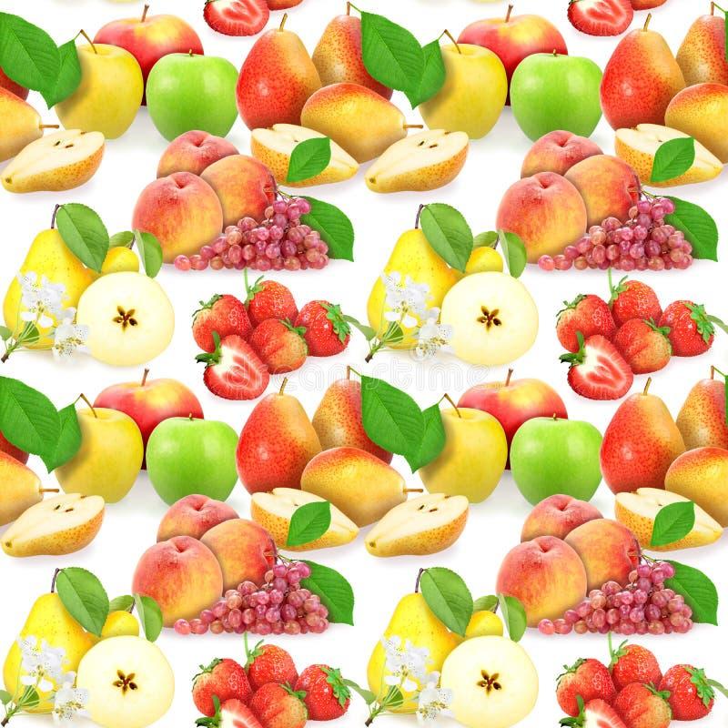 jagod owoc ilustraci wzoru bezszwowy wektor zdjęcia royalty free