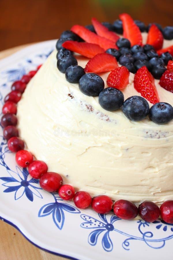 jagoda tort zdjęcie royalty free