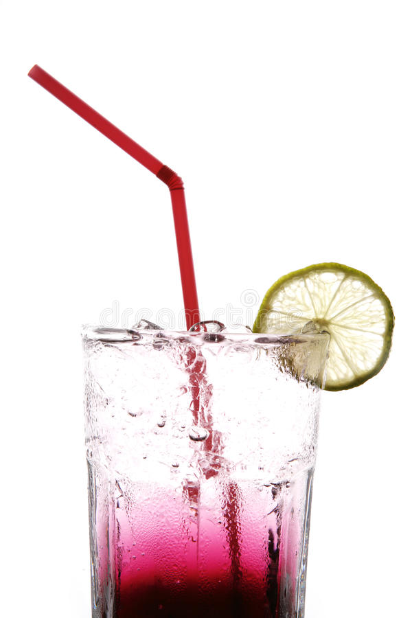 jagodowa soda obraz stock