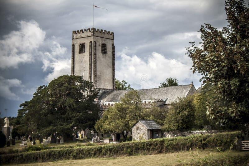 Jagodowy Pomeroy kościół zdjęcie royalty free